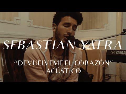 Sebastián Yatra video Devuélveme el corazón - CMTV Acústico 2017