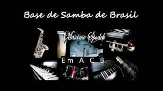 BASE DE SAMBA DE BRASIL EN Em, PARA GUITARRA, SAXO, TROMPETA, PIANO, PERCUSION, ETC