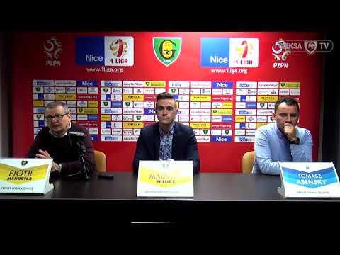 Konferencja prasowa po meczu GKS Katowice - Stomil