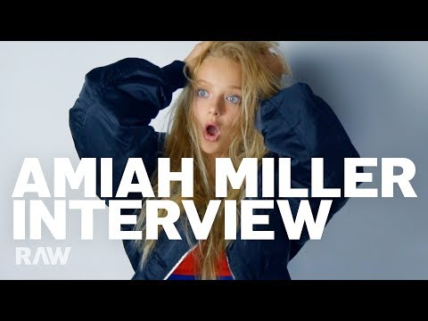 Amiah Miller's RAW interview