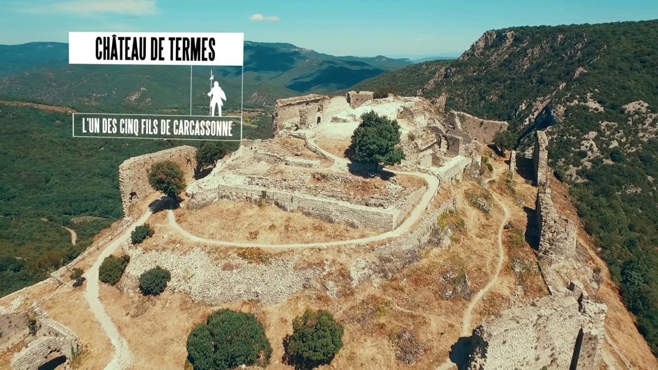 Château de Termes - Pays Cathare, 21 sites d'exception