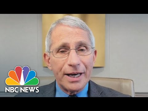 Dr. Anthony Fauci Calls COVID-19 A Public Health Official's 'Worst Nightmare' | NBC News NOW