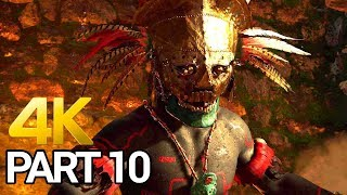 Shadow of the Tomb Raider Gameplay Walkthrough Part 10 - SOTTR PC 4K 60FPS