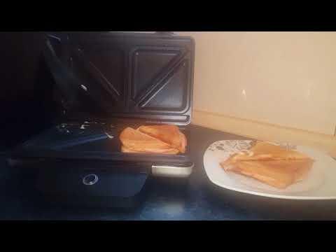 WMF Lono Sandwich Toaster / Leckeres Sandwich in 5 Minuten