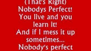 Miley Cyrus - Nobodys Perfect With Lyrics