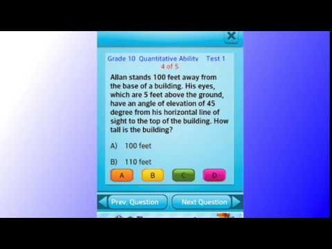 Video of Free 10th Grade Math English