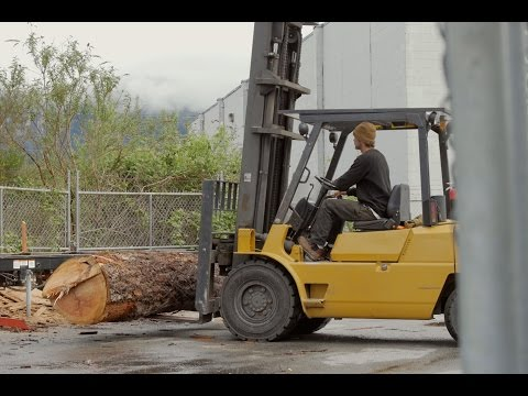 An Interesting Look At A Lumber Shop