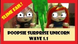 Poopsie Week, Poopsie Surprise Unicorn, Rainbow Brightstar and Oopsie Starlight - Toy Slime Fail