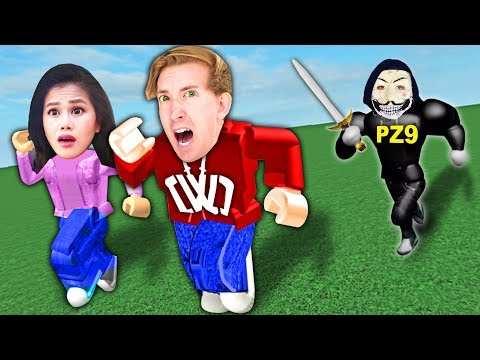 PZ9 HACKED US IN ROBLOX! Spying on Hacker Best Friend Hiding Inside Video Game 24 Hours Challenge