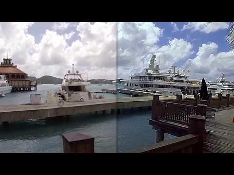 Virtualdub filter comparison (deshaker + barrel distortion