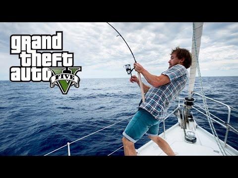Gioco con una filatura su pesca