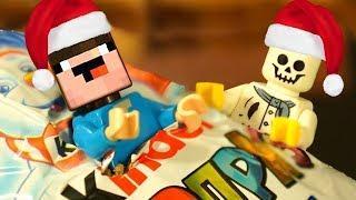 НОВЫЙ ГОД и Лего НУБик Майнкрафт Мультики - LEGO Minecraft Анимация и Мультфильмы