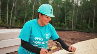 Indigenous Build Week – Habitat Canada's every one build