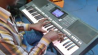 Aulaye Mwili Wangu  - PSR 950 TEST