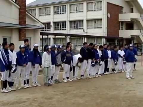 左京小学校グランドへ お礼の挨拶