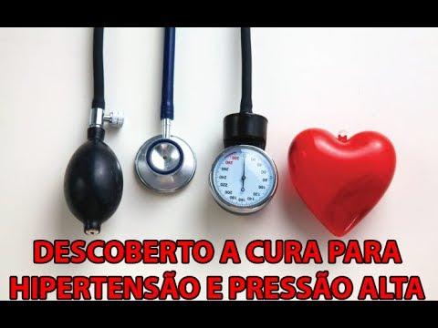 Pressão arterial é medido em uma artéria