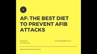 The best diet to prevent Afib