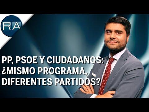 PP, PSOE y Ciudadanos comparten un proyecto común