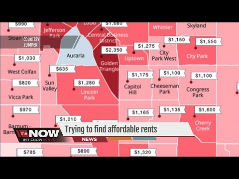Video Trying to find affordable rents in Denver