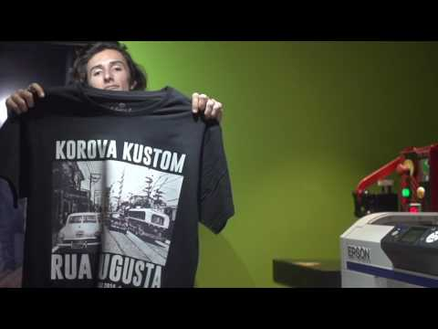Impressora SureColor F2000 na Korova