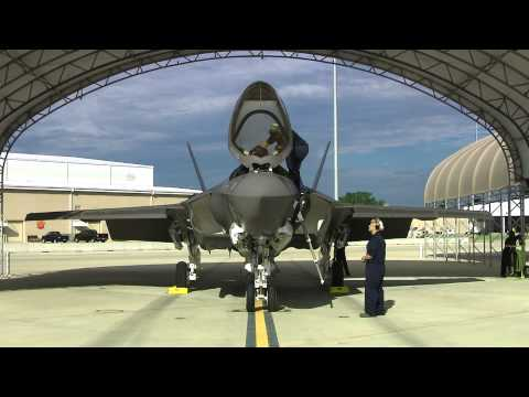 First F-35C Flight at Eglin AFB