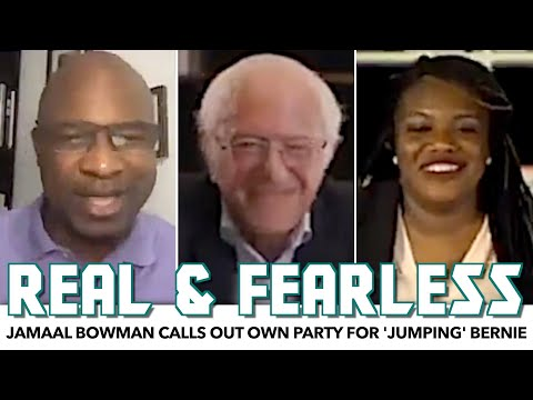 Jamaal Bowman Calls Out Own Party For 'Jumping' Bernie