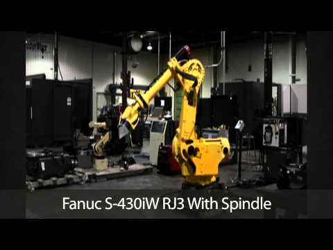 Fanuc S-430iW RJ3 With Spindle