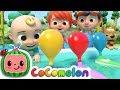 Balloon Boat Race | CoComelon Nursery Rhymes & Kids Songs