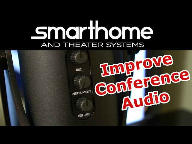 Improve Video Conference Audio with Microphone Upgrade