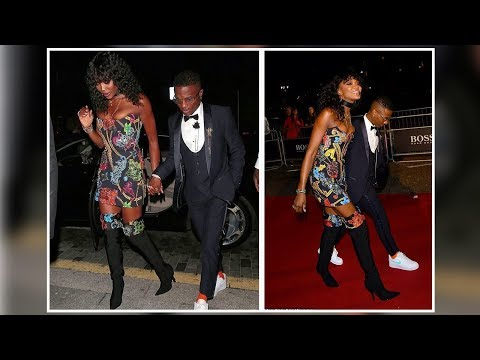 Wizkid Attends The GQ Men Of The Year Awards With His Girlfriend Naomi Campbell In London