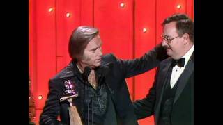 """George Jones Wins Single Of The Year For """"He Stopped Loving Her Today"""" - ACM Awards 1981"""