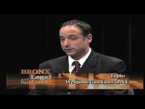 New York Gun Possession Laws (1 of 3)