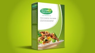 Food Packaging Design - Photoshop CC Tutorial