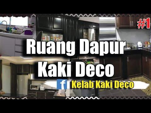 Ruang Dapur Kaki Deco