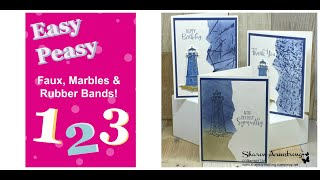 Fun Card Making Techniques That Will Amaze You | Easy Peasy 1-2-3