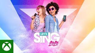 Xbox Let's Sing 2020 - Launch Trailer anuncio