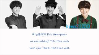 EXO - My Turn To Cry (Korean) [Hangul/Romanization/English] Color & Picture Coded HD