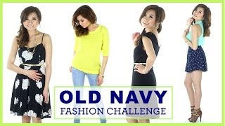 OLD NAVY FASHION CHALLENGE! | Miss Louie