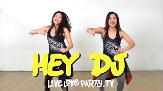 Gambar cover Hey DJ | Live Love Party™ | Zumba® | Dance Fitness