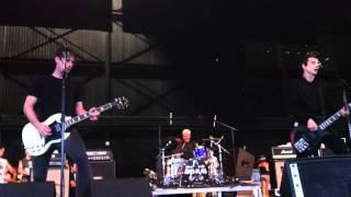 Anti-Flag- Drink Drank Punk- warped tour chicago 2012