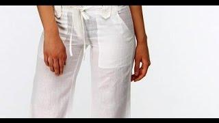 Летняя коллекция брюк из льна. ЭКО стиль 2017