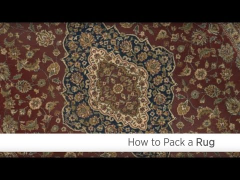 How to Pack a Rug