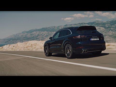 Porsche  Cayenne Кроссовер класса J - рекламное видео 5