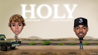 Justin Bieber - Holy ft. Chance The Rapper (Genies version)