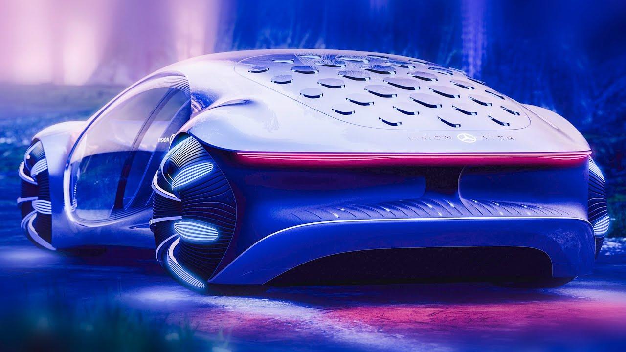 کۆمپانیای Mercedes-Benz ئۆتۆمبێلێکی دیزاینکراوی لەسەر بنەمای فیلمی AVATAR نمایشکرد