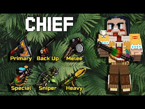 Chief Set - Pixel Gun 3D
