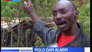 Kiambogo residents in Nakuru county have raised an alarm over a flower farm dam in the area