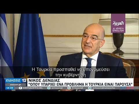 Δένδιας προς ΕΕ: «Βάλτε όρια στην Τουρκία» | 28/11/2020 | ΕΡΤ