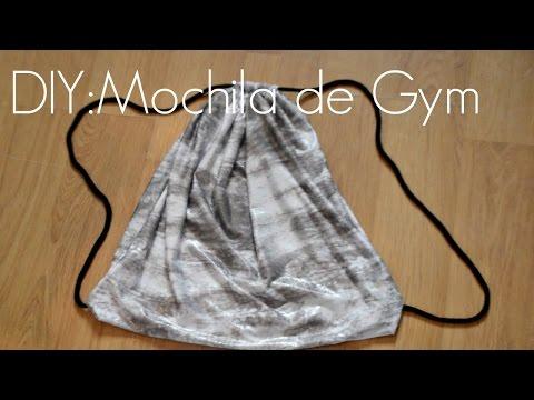 DIY: Como hacer una Mochila de gym