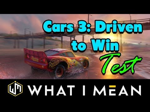 Cars 3 Driven To Win Test Deutsch